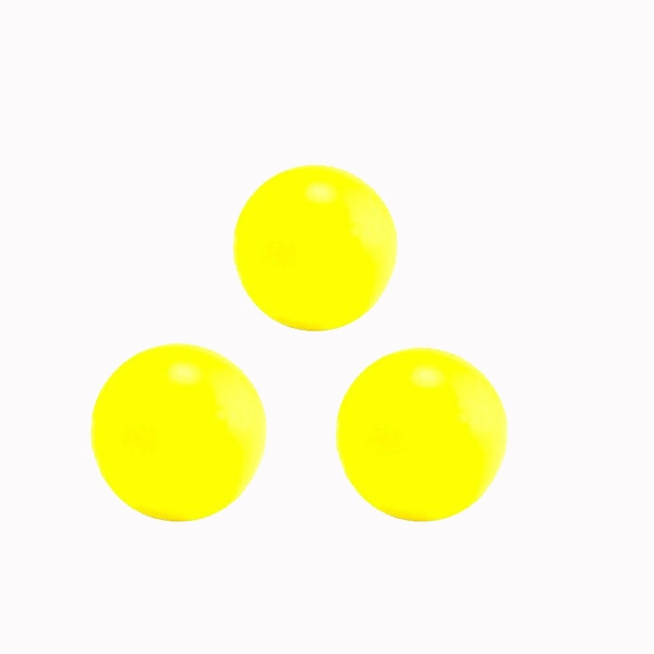 balles de baby foot jaune fluo en liege pieces pour baby. Black Bedroom Furniture Sets. Home Design Ideas