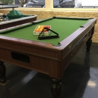 BILLARD POOL STATESMAN RUSTIQUE