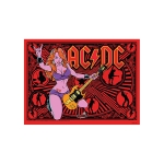 PINBALL ACDC LUCY VAULT EDITION BACKGLASS