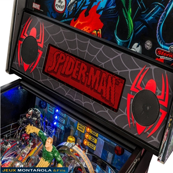 flipper spiderman vault edition flipper stern montanola jeux. Black Bedroom Furniture Sets. Home Design Ideas