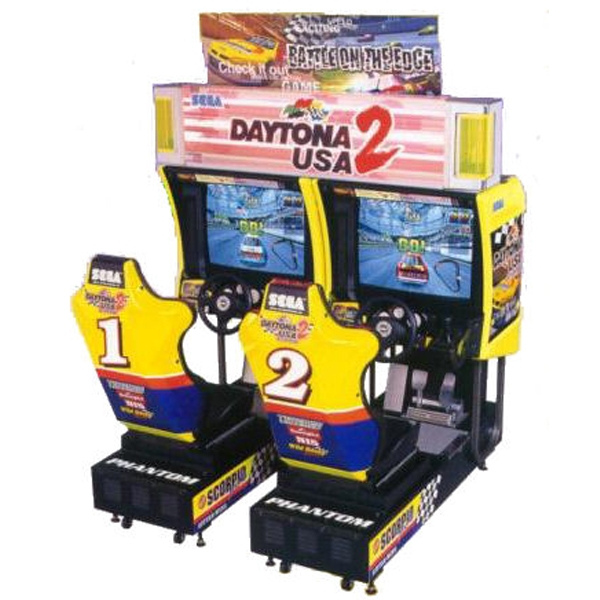 simulateur de conduite daytona usa 2 double simulateurs de voiture montanola jeux. Black Bedroom Furniture Sets. Home Design Ideas